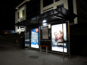 outdoor solar advertising displays