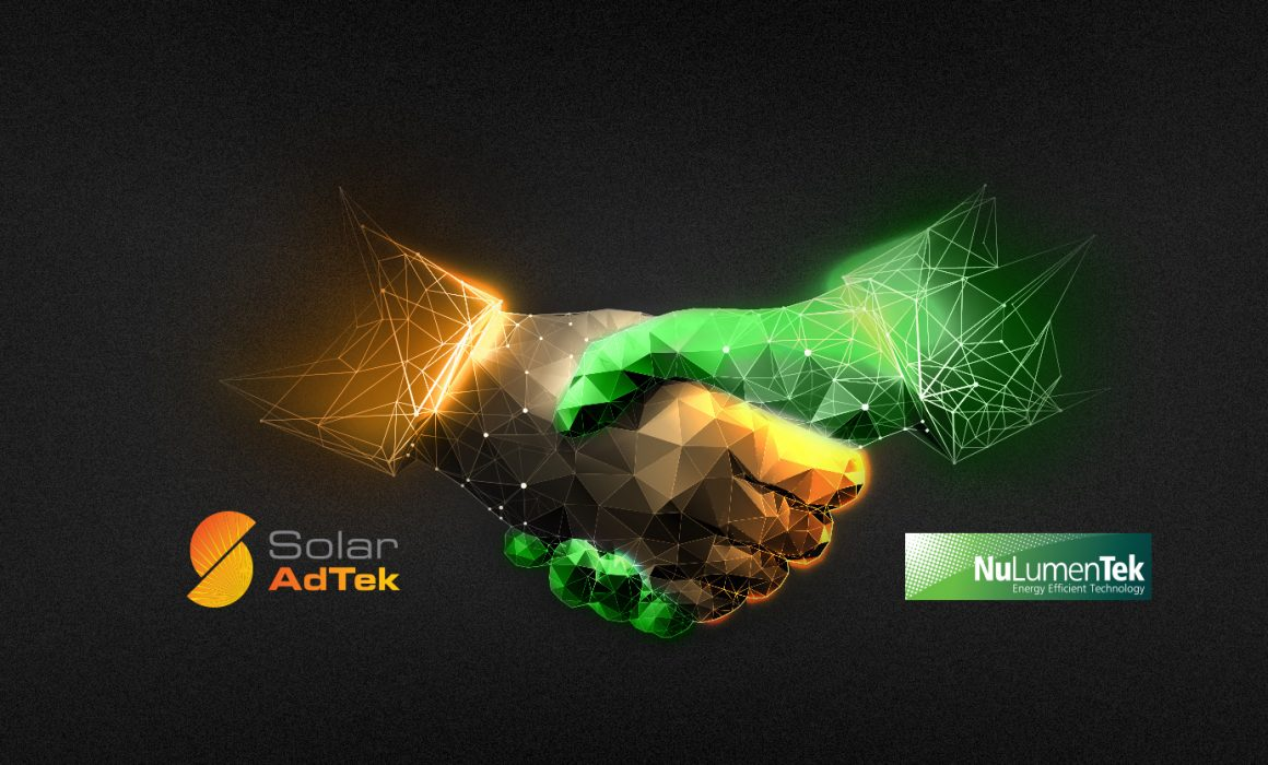 New partnership between Solar AdTek and NuLumenTek